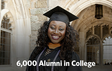 6,000 alumni in college