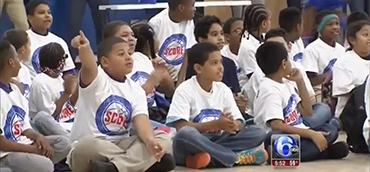 KIPP New Jersey | Sixers SCORE Program Launch at KIPP Lanning Square